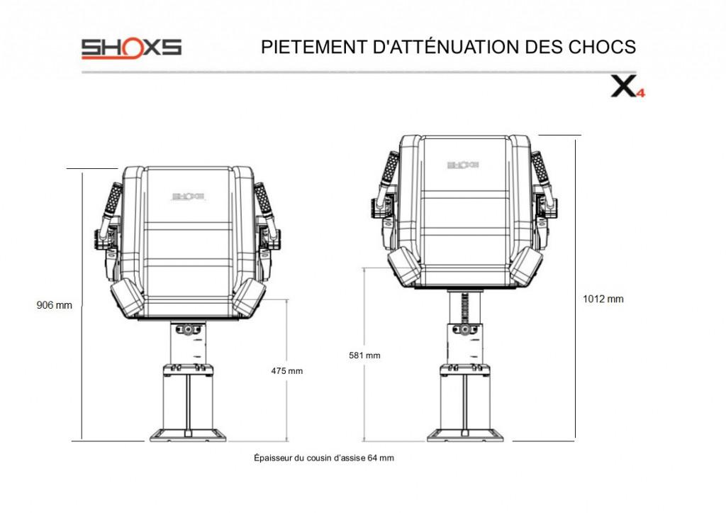 SIEGE SHOXS 3200 X4