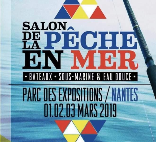 SALON DE LA PECHE EN MER nantes 01/02/03 MARS 2019