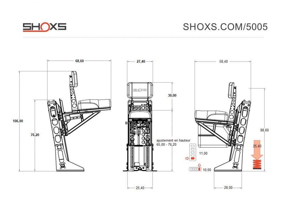 SIEGE SHOXS 5005