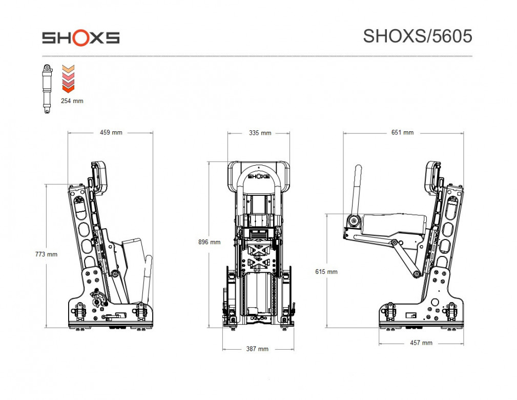 SIEGE SHOXS 5605