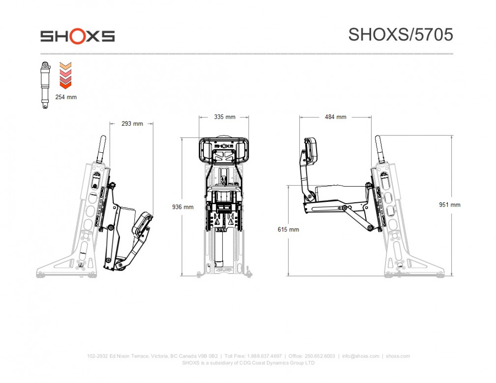 SIEGE SHOXS 5705