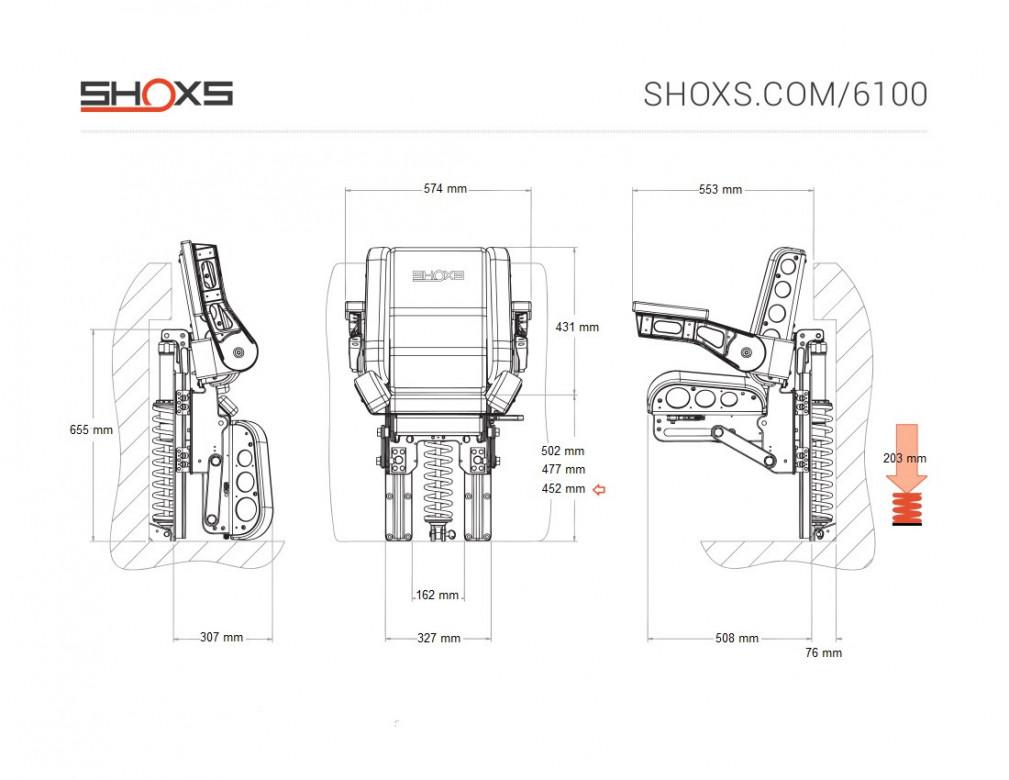 SIEGE SHOXS 6100