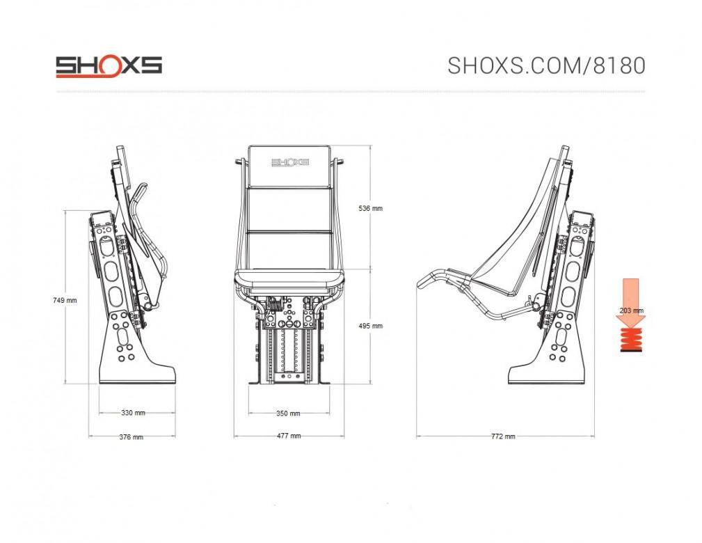 SIEGE SHOXS 8180
