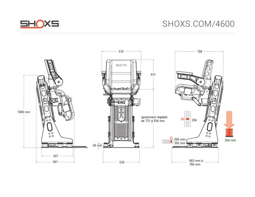 SIEGE SHOXS 4600