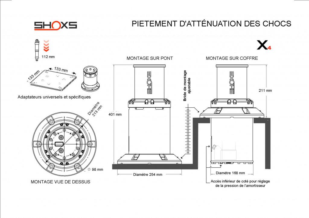 SUSPENSION SHOXS X4