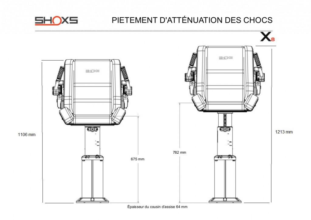 SIEGE SHOXS 3200 X8