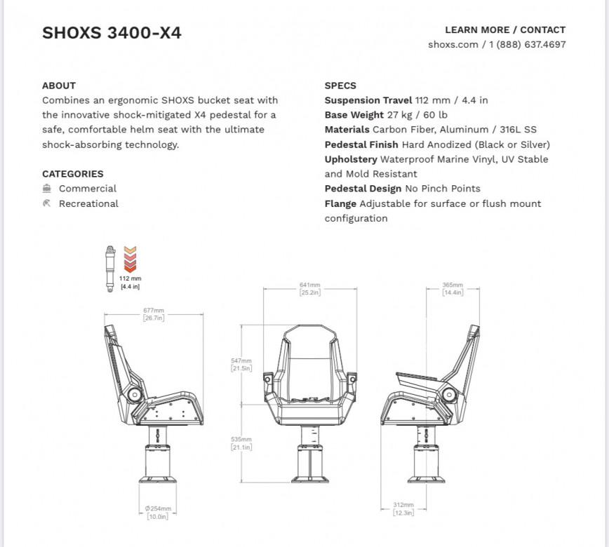 SIEGE SHOXS 3400 X4