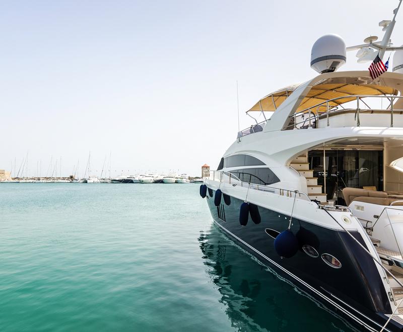 Des sieges haut de gamme pour votre yacht